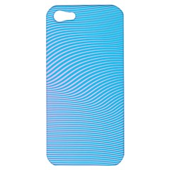 Background Graphics Lines Wave Apple iPhone 5 Hardshell Case