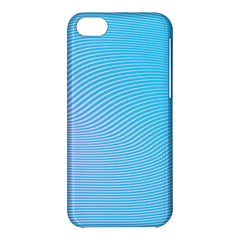 Background Graphics Lines Wave Apple iPhone 5C Hardshell Case