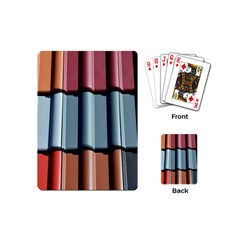 Shingle Roof Shingles Roofing Tile Playing Cards (Mini)