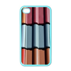 Shingle Roof Shingles Roofing Tile Apple iPhone 4 Case (Color)
