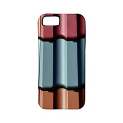 Shingle Roof Shingles Roofing Tile Apple iPhone 5 Classic Hardshell Case (PC+Silicone)