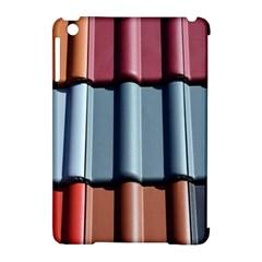 Shingle Roof Shingles Roofing Tile Apple iPad Mini Hardshell Case (Compatible with Smart Cover)