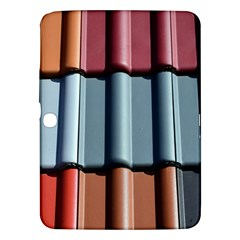 Shingle Roof Shingles Roofing Tile Samsung Galaxy Tab 3 (10.1 ) P5200 Hardshell Case