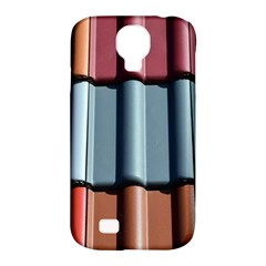 Shingle Roof Shingles Roofing Tile Samsung Galaxy S4 Classic Hardshell Case (PC+Silicone)