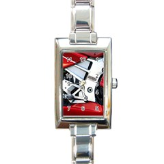 Footrests Motorcycle Page Rectangle Italian Charm Watch