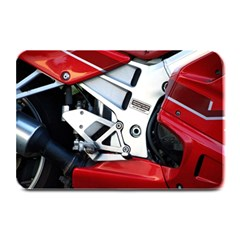Footrests Motorcycle Page Plate Mats