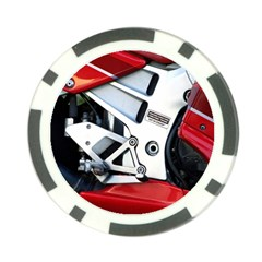 Footrests Motorcycle Page Poker Chip Card Guard (10 pack)