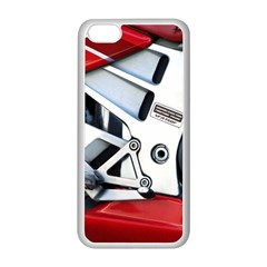 Footrests Motorcycle Page Apple iPhone 5C Seamless Case (White)