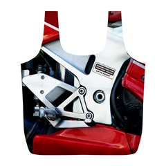 Footrests Motorcycle Page Full Print Recycle Bags (L)