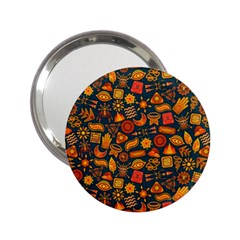 Pattern Background Ethnic Tribal 2.25  Handbag Mirrors