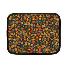 Pattern Background Ethnic Tribal Netbook Case (Small)