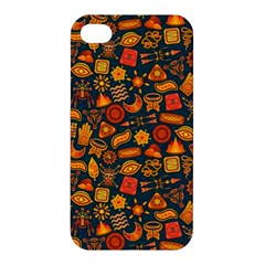 Pattern Background Ethnic Tribal Apple iPhone 4/4S Premium Hardshell Case
