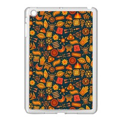 Pattern Background Ethnic Tribal Apple iPad Mini Case (White)