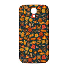 Pattern Background Ethnic Tribal Samsung Galaxy S4 I9500/I9505  Hardshell Back Case