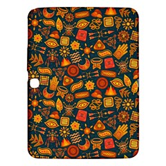 Pattern Background Ethnic Tribal Samsung Galaxy Tab 3 (10.1 ) P5200 Hardshell Case