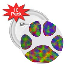Paw 2.25  Buttons (10 pack)