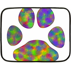 Paw Double Sided Fleece Blanket (Mini)