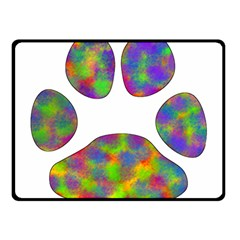 Paw Double Sided Fleece Blanket (Small)