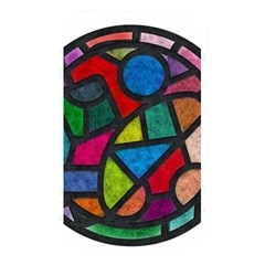 Stained Glass Color Texture Sacra Memory Card Reader