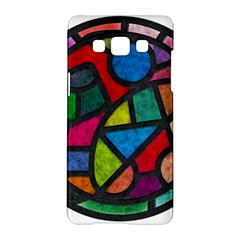 Stained Glass Color Texture Sacra Samsung Galaxy A5 Hardshell Case
