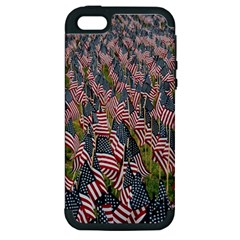 Repetition Retro Wallpaper Stripes Apple iPhone 5 Hardshell Case (PC+Silicone)