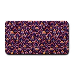 Abstract Background Floral Pattern Medium Bar Mats