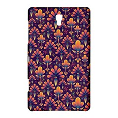 Abstract Background Floral Pattern Samsung Galaxy Tab S (8.4 ) Hardshell Case