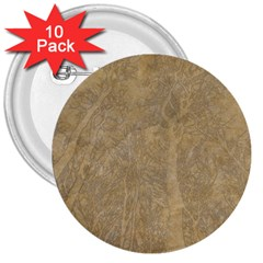 Abstract Forest Trees Age Aging 3  Buttons (10 pack)