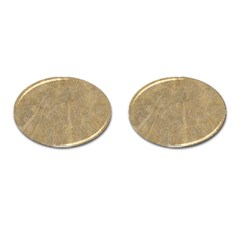 Abstract Forest Trees Age Aging Cufflinks (Oval)