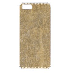 Abstract Forest Trees Age Aging Apple iPhone 5 Seamless Case (White)