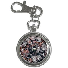 Leaf Leaves Autumn Fall Brown Key Chain Watches