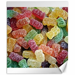 Jelly Beans Candy Sour Sweet Canvas 20  x 24
