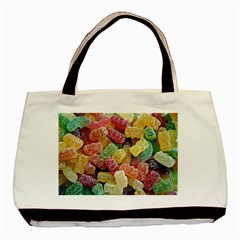 Jelly Beans Candy Sour Sweet Basic Tote Bag (Two Sides)