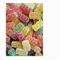 Jelly Beans Candy Sour Sweet Large Garden Flag (Two Sides)