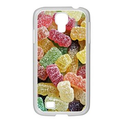 Jelly Beans Candy Sour Sweet Samsung GALAXY S4 I9500/ I9505 Case (White)