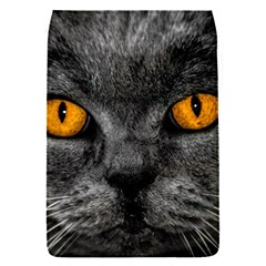 Cat Eyes Background Image Hypnosis Flap Covers (S)