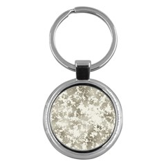 Wall Rock Pattern Structure Dirty Key Chains (Round)