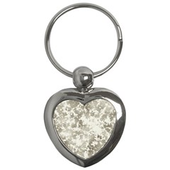 Wall Rock Pattern Structure Dirty Key Chains (Heart)