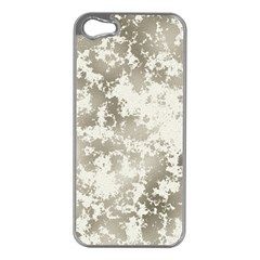 Wall Rock Pattern Structure Dirty Apple iPhone 5 Case (Silver)