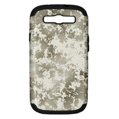 Wall Rock Pattern Structure Dirty Samsung Galaxy S III Hardshell Case (PC+Silicone)
