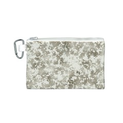Wall Rock Pattern Structure Dirty Canvas Cosmetic Bag (S)