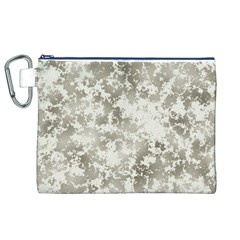 Wall Rock Pattern Structure Dirty Canvas Cosmetic Bag (XL)