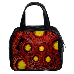 Mechanical Universe Classic Handbags (2 Sides)