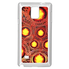 Mechanical Universe Samsung Galaxy Note 4 Case (White)