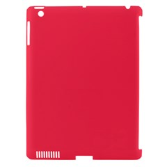 Neon Color - Brilliant Amaranth Apple iPad 3/4 Hardshell Case (Compatible with Smart Cover)