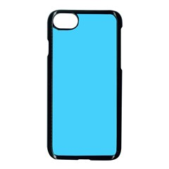 Neon Color   Brilliant Cerulean Apple Iphone 7 Seamless Case (black)