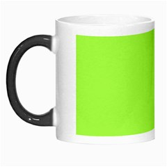 Neon Color - Brilliant Charteuse Green Morph Mugs