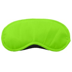 Neon Color - Brilliant Charteuse Green Sleeping Masks