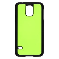 Neon Color - Brilliant Charteuse Green Samsung Galaxy S5 Case (Black)