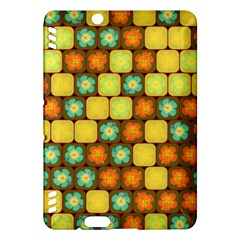 Random Hibiscus Pattern Kindle Fire Hdx Hardshell Case